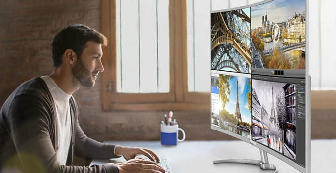 Best 40 Inch 4k Monitors For Work and Play